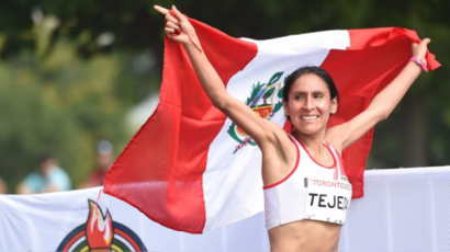 ¡Orgullo peruano! Gladys Tejeda clasificó a los Juegos Olímpicos Tokio 2020