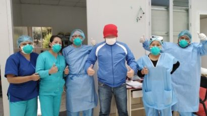 NOTICIA: Hospital del Cusco da de alta a todos sus pacientes con covid-19