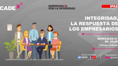 NOTA DE PRENSA – Este miércoles #CADEx abordará el papel del empresariado en la pandemia del COVID-19