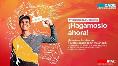 NOTA DE PRENSA – #CADEjóvenes Líderes: Evento busca congregar a los jóvenes para lograr un mejor país