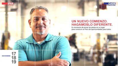 NOTA DE PRENSA – #CADEejecutivos: Desde el sector privado, público y la sociedad toca 'jugárnosla por el Perú'