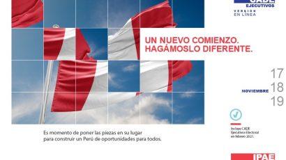 NOTA DE PRENSA – #CADEejecutivos: La institucionalidad es clave para construir un Perú de oportunidades para todos
