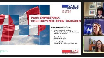"""NOTA DE PRENSA – #CADEejecutivos: """"Se busca inspirar e impulsar la participación activa de la empresa en la sociedad"""""""