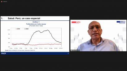 """NOTA DE PRENSA – #CADEejecutivos: """"Si es que no hay una reinfección en el Perú, seríamos uno de los países que se recupere económicamente más rápido"""""""