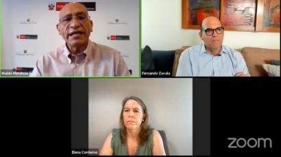 """NOTA DE PRENSA – Waldo Mendoza en #CADEX: """"La vacuna es el elemento más importante para la recuperación macroeconómica"""""""