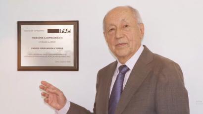 NOTA DE PRENSA – #CADEejecutivos: Carlos Hiraoka Torres, Minera Antamina y Fundación BBVA son los ganadores del Premio IPAE