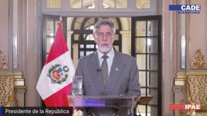 Discurso –  Presidente de la República del Perú, Francisco Sagasti, en CADE Ejecutivos