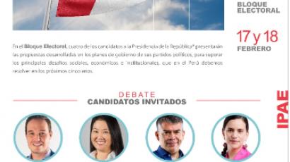 NOTA DE PRENSA – #CADEejecutivos: En Bloque Electoral, candidatos presidenciales exponen su estrategia para lograr que la vacuna llegue a todos los peruanos