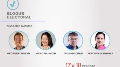 NOTA DE PRENSA – #CADEejecutivos: Propuestas de Gestión pública, eficiencia del Estado y lucha contra la corrupción de cuatro candidatos serán abordados en el Bloque Electoral