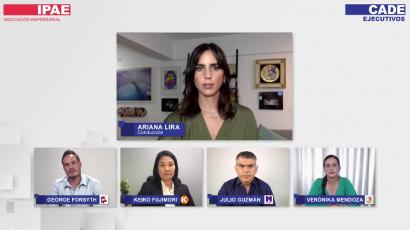 NOTA DE PRENSA – #CADEelectoral: La lucha anticorrupción en la mirada de cuatro candidatos presidenciales