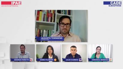 NOTA DE PRENSA – #CADEelectoral: Las propuestas de Fujimori, Forsyth, Mendoza y Guzmán para generar empleo y reactivar la economía del país