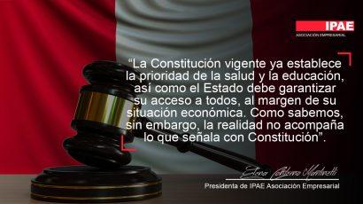 COLUMNA DE OPINIÓN – ¿Necesitamos una nueva constitución?