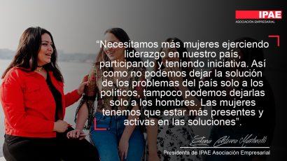 """COLUMNA DE OPINIÓN – Elena Conterno en Agenda Mujer Bicentenario: """"Así como no podemos dejar la solución de los problemas del país solo a los políticos, tampoco podemos dejarla solo a los hombres"""""""