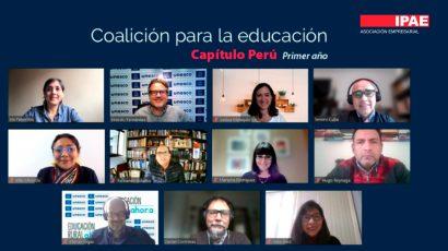 NOTA DE PRENSA – IPAE participó en reunión de balance por el primer año de conformación de la coalición para la educación – capítulo Perú