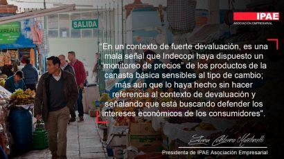 COLUMNA DE OPINÓN – Es economía, no especulación