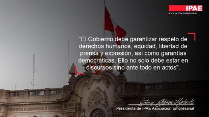 COLUMNA DE OPINIÓN – Prioricemos garantías democráticas