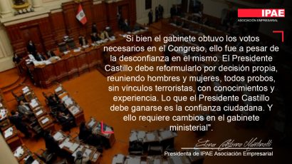 COLUMNA DE OPINIÓN – Gabinete debe ser reformulado