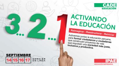 #CADEedu: este martes inicia la 13° edición del principal foro de educación del Perú